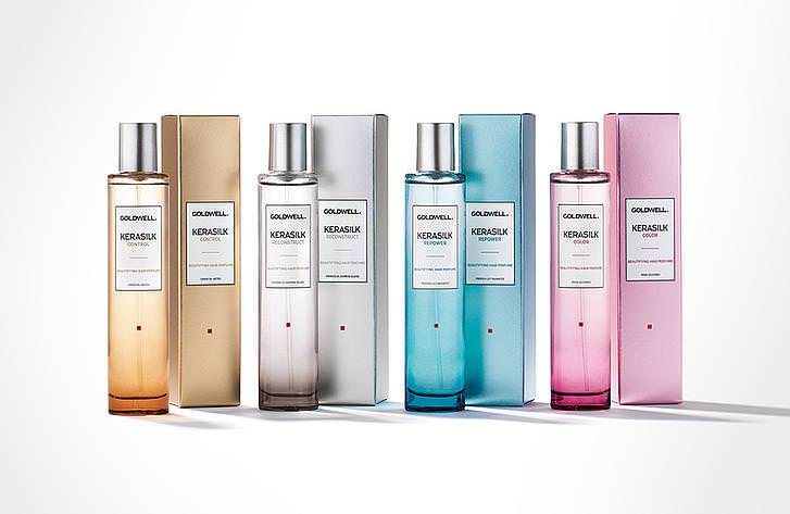 Kerasilk Fine Fragrances at GOLSON Hair Salon in Milton Keynes