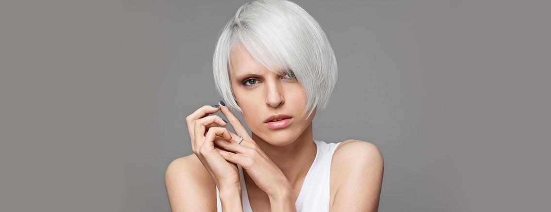 Platinum Blonde & Silver Grey Hair Colour Trends