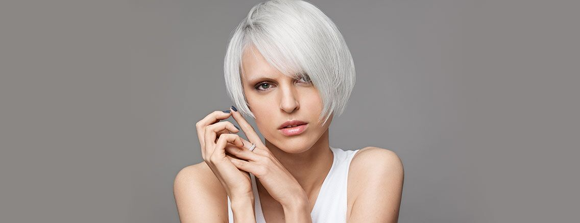 Silver Grey Platinum Blonde Hair Hair Salon Milton Keynes