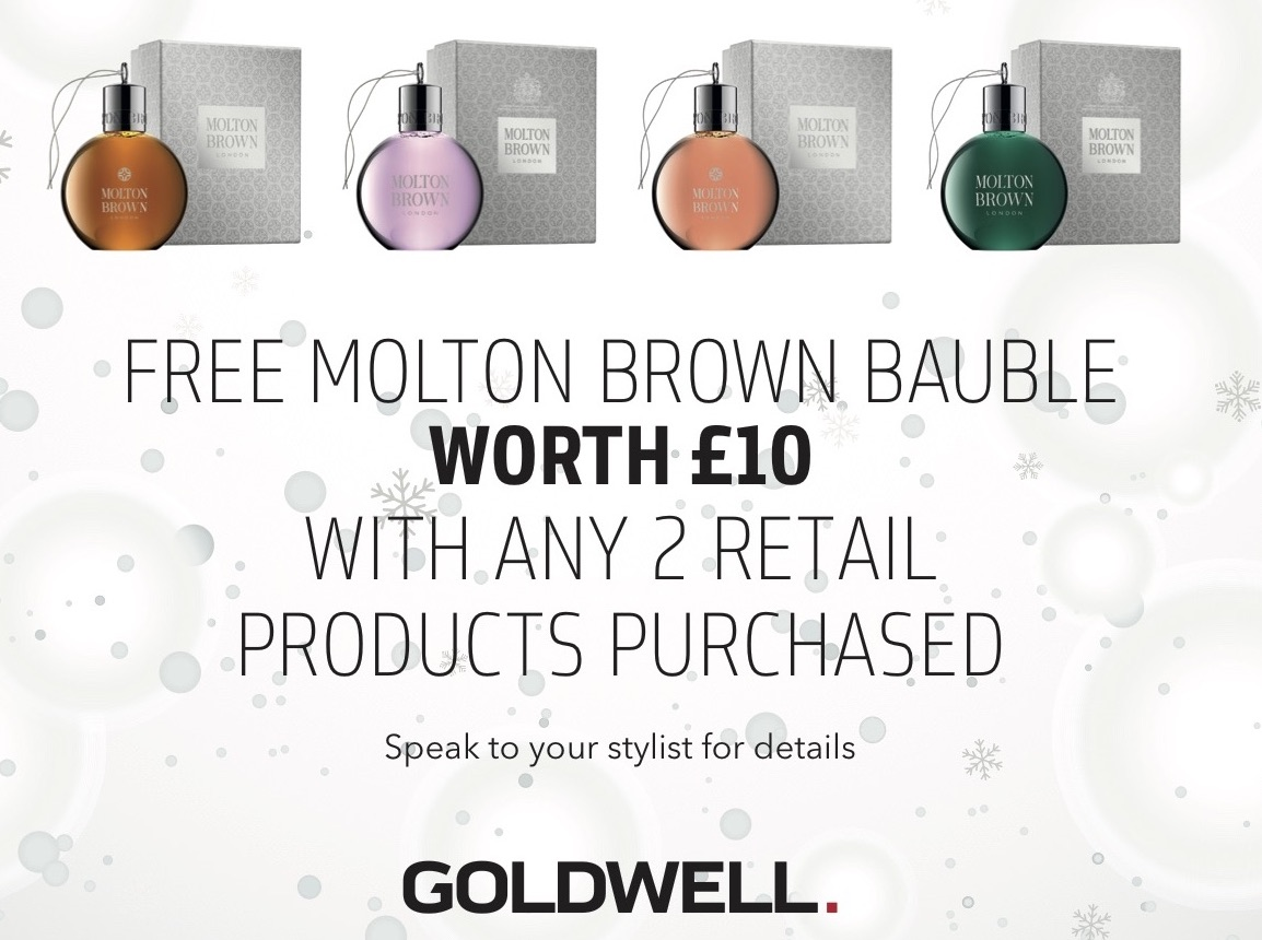 Get a FREE Molton Brown Bauble worth £10!