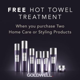 FREE Hot Towel Treatment When You Buy 2 Products*