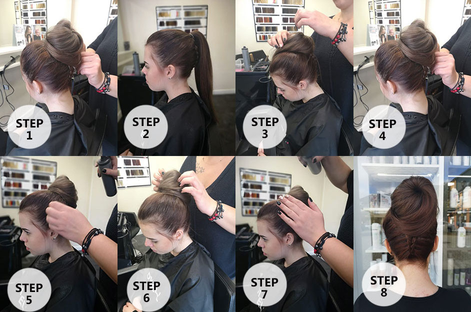 Step-By-Step: How To Do A Christmas Party Up-Do Hairstyle