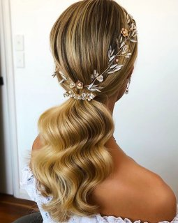 Bridal Hair & Beauty Trends 2021