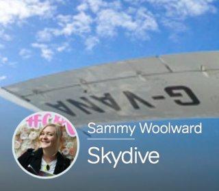 GOLSON Designer Sammy To Skydive For Animal Charity