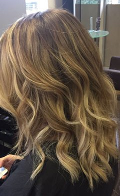 Balayage-Blonde at Golson Hair Salon Milton Keynes