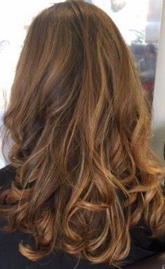 Balayage-Brunette-at Golson Hair Salon Milton Keynes