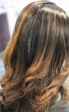 Balayage Brunette at Golson Hair Salon Milton Keynes